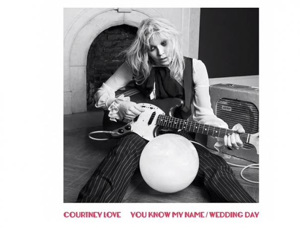 Nuevo tema de Courtney Love You Know My Name