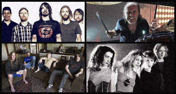 Foo Fighters, Tool, Metallica, Hole preparan un nuevo disco
